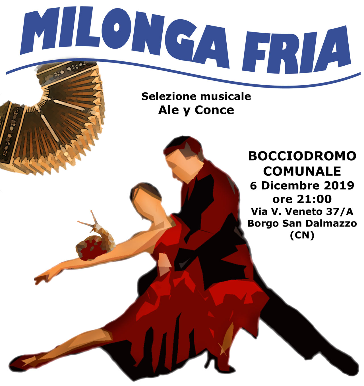 Milonga Fria, tango argentino, bocciofila