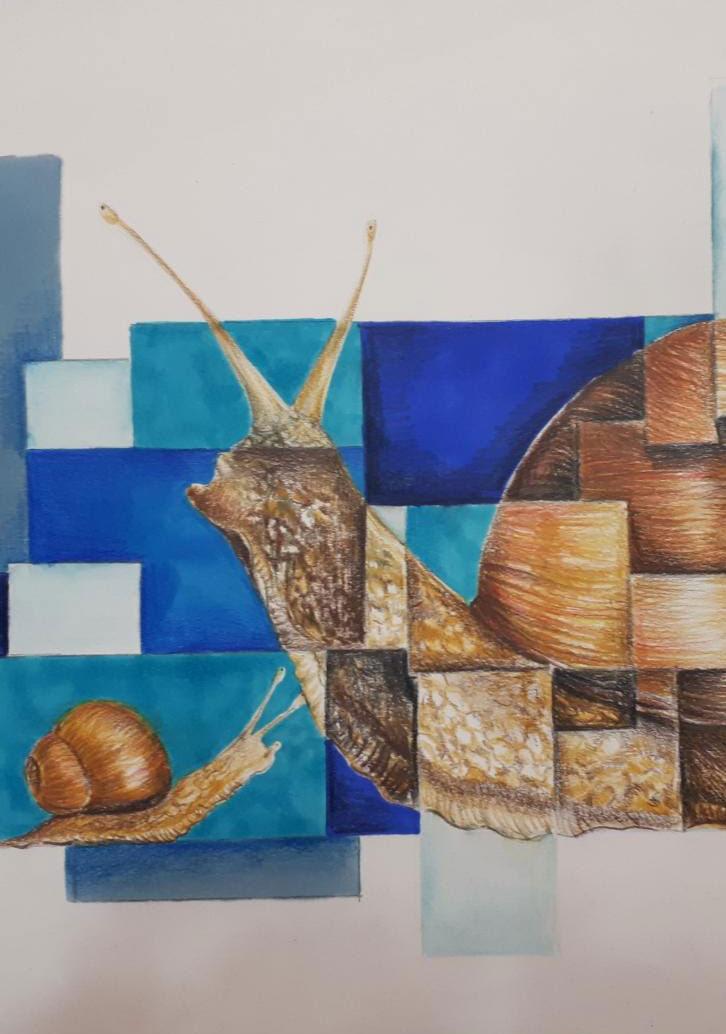 Mostra di opere realizzate dagli studenti della 4D del Liceo Artistico