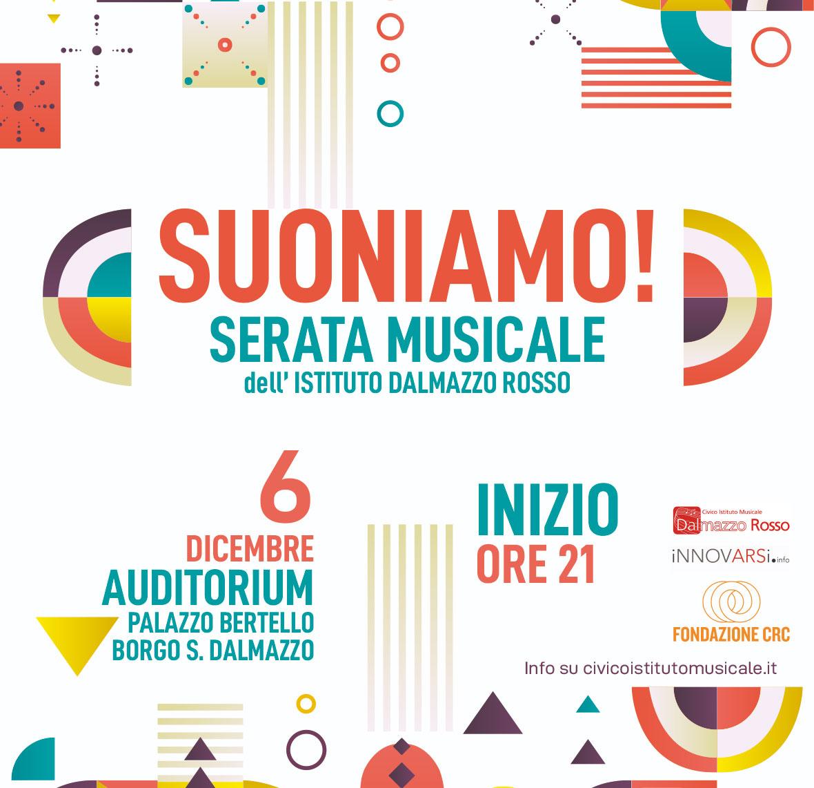 Concerto dell'Ist. Musicale Dalmazzo Rosso
